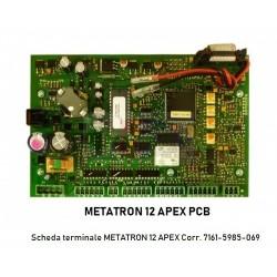 Scheda terminale METATRON 12 APEX Corr. 7161-5985-069