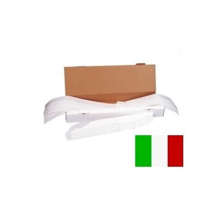 FL 002-250 320x57x Pz. 250 Filtro Latte cuciti