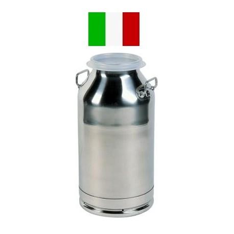 DL 510-30 Bidone inox con coperchio