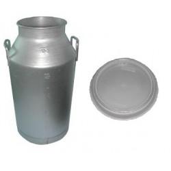 DL 520-30 Bidone Alluminio con coperchio