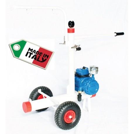 Telaio completo carrello di mungitura per bovini e ovicaprini