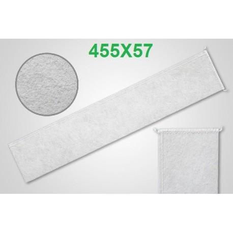 Filtro latte a calza cucito 455x57