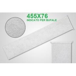 Filtro latte a calza cucito 455x76 per bufale
