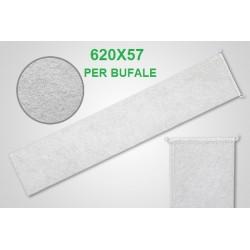 Filtro latte a calza cucito 620X57 per Bufale