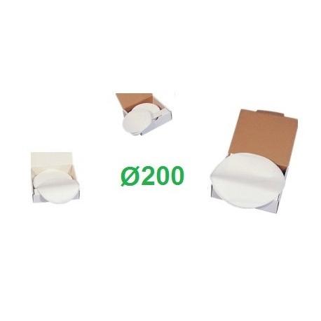 Filtro latte a disco Ø 200 pz. 200