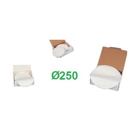 Filtro latte a disco Ø 250 pz. 200
