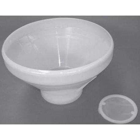Imbuto filtrante per latte in plastica Ø 280 mm