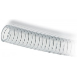 Tubo spiralato Ø 40x49 PVC per liquidi alimentari