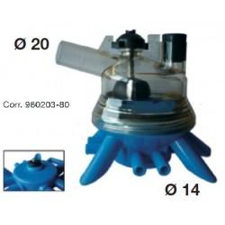 Collettore plastica Filetto DELAVAL Corr. 960203-80