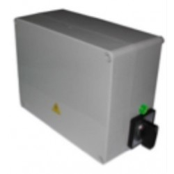 Quadro controllo per pompa latte trifase per sonda a galleggiante