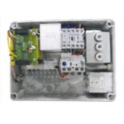Quadro controllo per pompa latte trifase per sonda a elettrodi