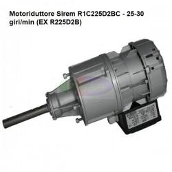 Motoriduttore Sirem R1C225D2BC - 25-30 giri/min (EX R225D2B)