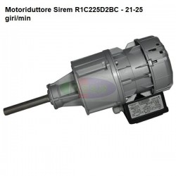 Motoriduttore Sirem R1C225D2BC - 21-25 giri/min