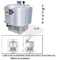 Frigo Latte 200 lt.