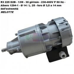 Motoriduttore Sirem R3 225 D2B - 1/09 - 30 giri/min