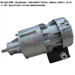 Motoriduttore Sirem R3 225 D2B - 48 giri/min