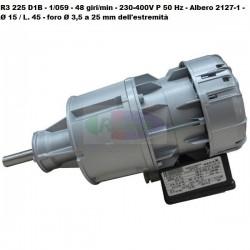 Motoriduttore Sirem R3225D1B - 48 giri/min